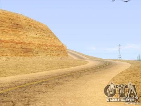 HQ Country Desert v1.3 para GTA San Andreas oitavo tela