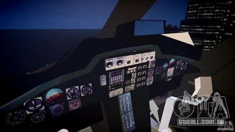 Airwolf v1.0 para GTA 4 vista de volta