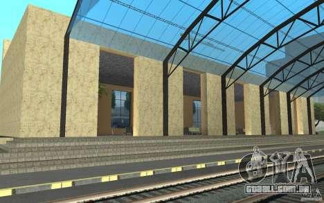 A nova estação em San Fierro para GTA San Andreas