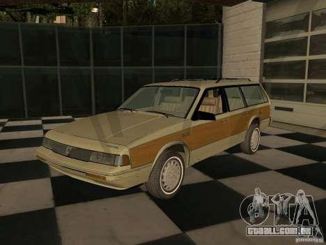 Oldsmobile Cutlass Cruiser 1993 para GTA San Andreas
