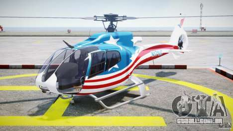 Eurocopter EC 130 B4 USA Theme para GTA 4