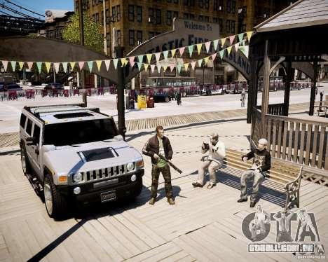 CoD Black Ops Hudson para GTA 4 terceira tela
