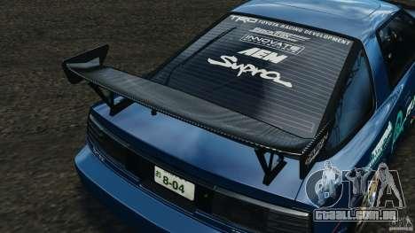 Toyota Supra 3.0 Turbo MK3 1992 v1.0 para GTA 4 motor