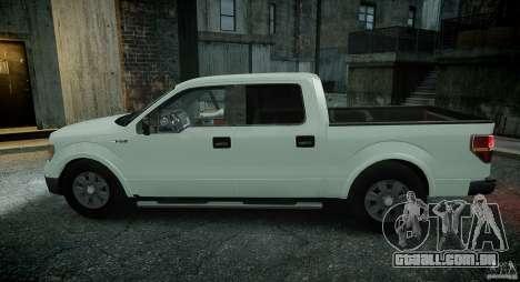 Ford F150 XLT v1.3 para GTA 4 vista de volta
