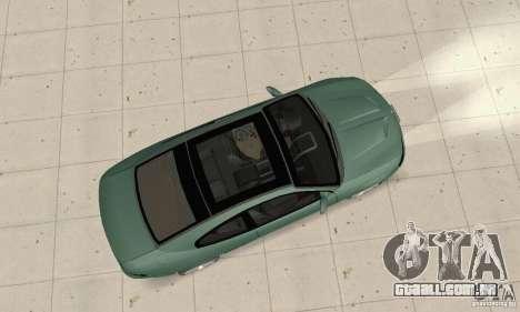 Vauxhall Monaro VXR Open SKY 2004 para GTA San Andreas vista direita
