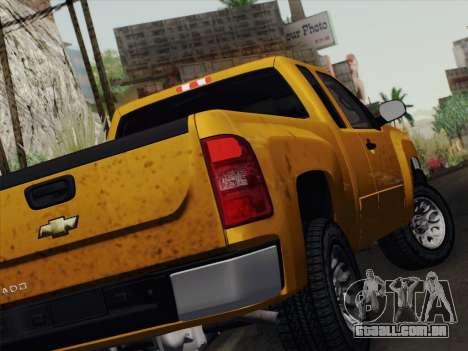 Chevrolet Silverado 2500HD 2013 para GTA San Andreas vista direita