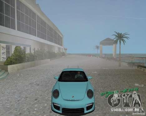 Porsche 911 GT2 para GTA Vice City deixou vista