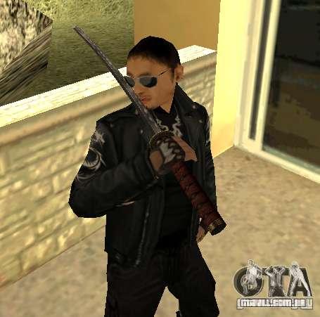 Substituição peles Yakuza para GTA San Andreas
