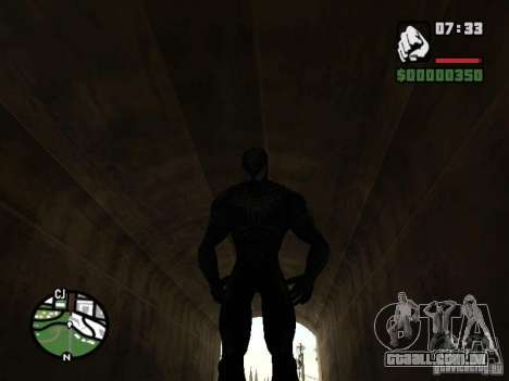 Inimigo do homem-aranha em reflexão para GTA San Andreas oitavo tela