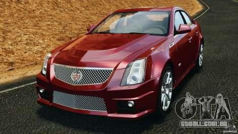 Cadillac CTS-V 2009 para GTA 4