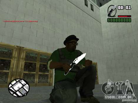 Black Weapon by ForT para GTA San Andreas sétima tela
