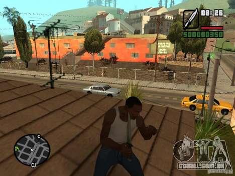 Faca para GTA San Andreas terceira tela