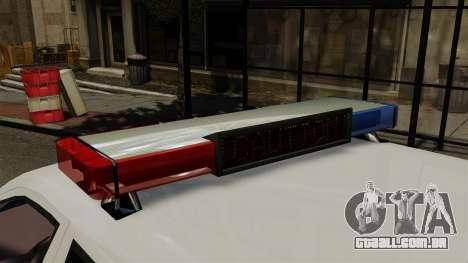 Skoda Fabia Combi Finnish Police ELS para GTA 4 vista de volta