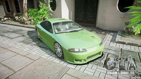 Mitsubishi Eclipse para GTA 4 vista direita