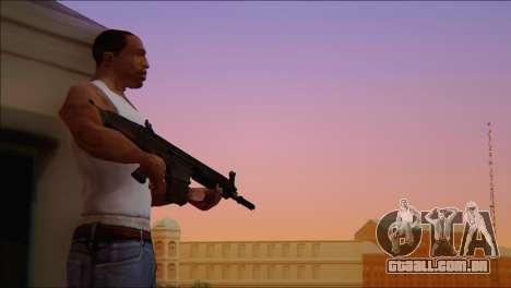 SCAR - H para GTA San Andreas quinto tela
