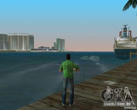 Água nova, jornais, folhas, lua para GTA Vice City segunda tela