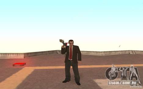 Unique animation of GTA IV V3.0 para GTA San Andreas quinto tela
