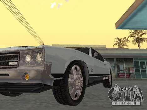 SabreGT do GTA 4 para GTA San Andreas