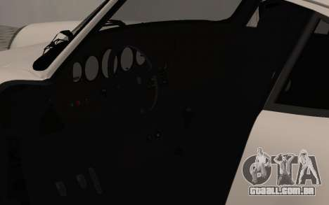 Porsche 911 Turbo para GTA San Andreas vista traseira