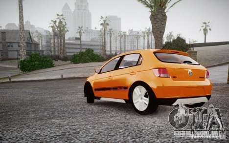 Volkswagen Gol Rallye 2012 para GTA 4 vista direita