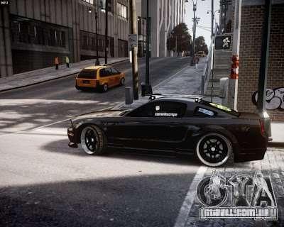 Ford Mustang GT Lowlife para GTA 4 traseira esquerda vista