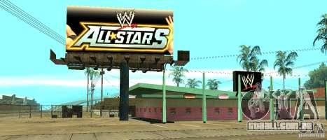 Nova loja da WWE para GTA San Andreas