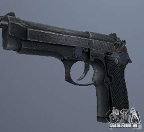 Um conjunto de armas do perseguidor V3 para GTA San Andreas sétima tela