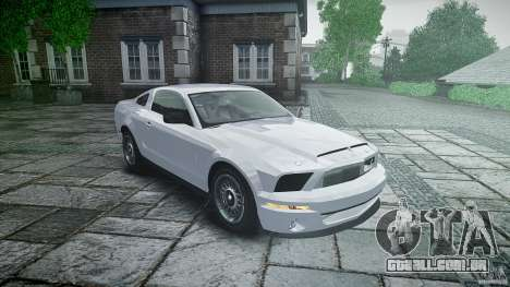 Ford Shelby GT500 para GTA 4