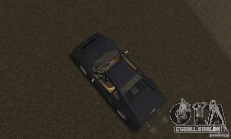 Ferrari 328 GTB para GTA San Andreas vista traseira