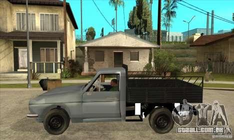 Anadol Pick-Up para GTA San Andreas esquerda vista