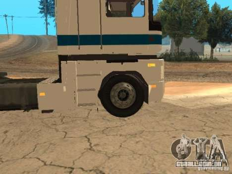 Renault Magnum Sommer Container para vista lateral GTA San Andreas