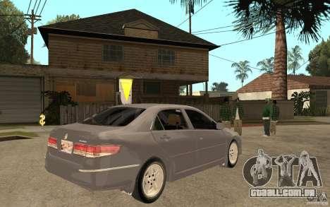 Honda Accord 2004 v2 para GTA San Andreas