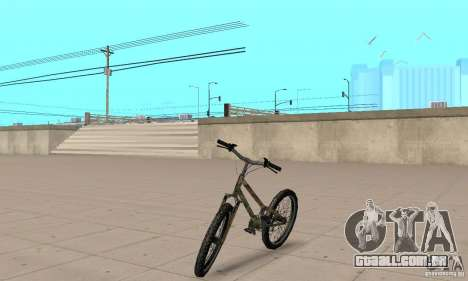 Trial bike para GTA San Andreas