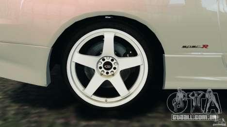 Nissan Silvia S15 Drift para GTA 4 vista superior