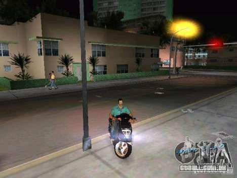 PIAGGIO NRG MC3 para GTA Vice City vista direita