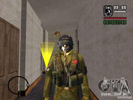 US Air Force para GTA San Andreas