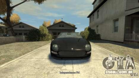 Maserati Spyder Cambiocorsa para GTA 4
