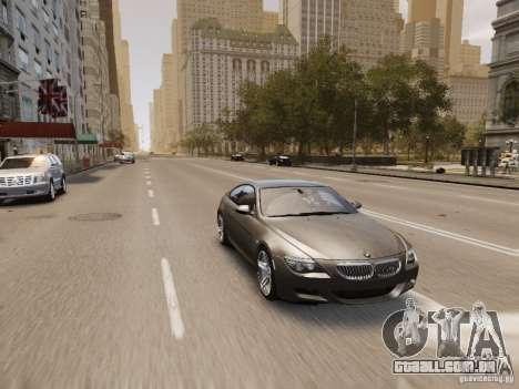 BMW M6 2010 para GTA 4 interior