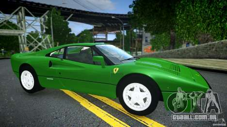 Ferrari 288 GTO EPM para GTA 4 esquerda vista