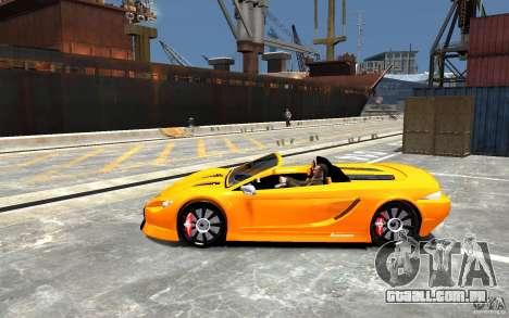 K1 Attack Concept para GTA 4 esquerda vista