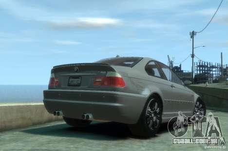 BMW M3 E46 para GTA 4 vista direita