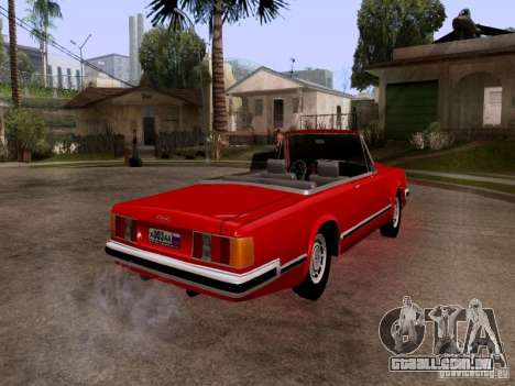 ZIL 41044 Phaeton para GTA San Andreas vista direita
