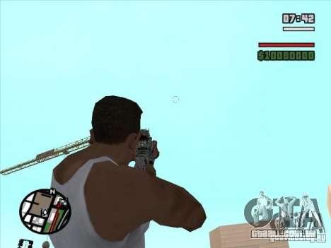 M4 s. l. a. t. k. e. r. (a) para GTA San Andreas terceira tela