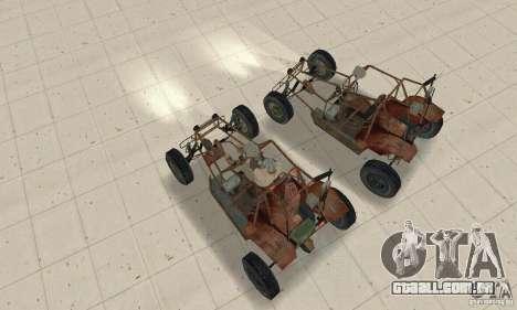 Half-Life Buggy para GTA San Andreas vista direita