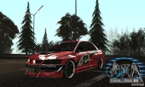 Mitsubishi Lancer IX APR para GTA San Andreas