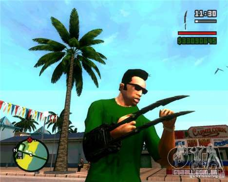 As garras de um predador para GTA San Andreas