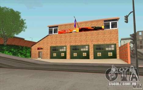 Corpo de bombeiros para GTA San Andreas