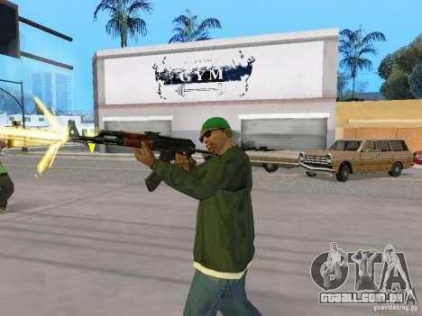 AKC - 47 HD para GTA San Andreas quinto tela