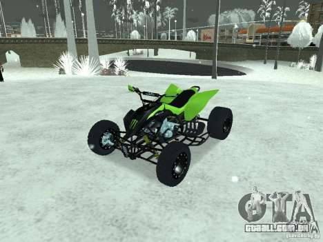Kawasaki Monster Energy Quad para GTA San Andreas