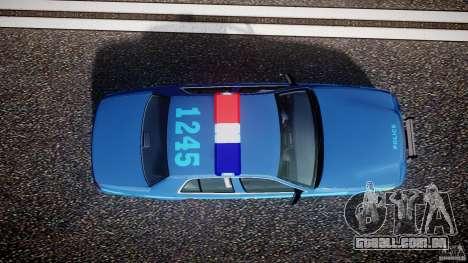 Ford Crown Victoria 2003 Noose v2.1 para GTA 4 vista lateral